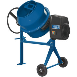 Scheppach MIX140 550W 140L Concrete Mixer
