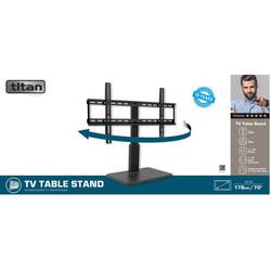 Titan By Vivanco TV Swivel Base With Adjustable Height & Angle