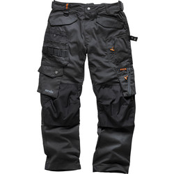 Scruffs Dark Lead 3D Pro Trousers