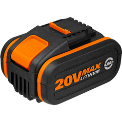 Worx Worx Powershare 20V Li-Ion Battery 4.0Ah - 41438 - from Toolstation