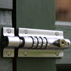 Squire 4 Combination Locking Bolt