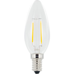 Integral LED Filament Candle Lamp