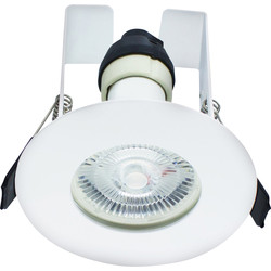 Integral LED Evofire IP65 Fire Rated Downlight White with Insulation Guard