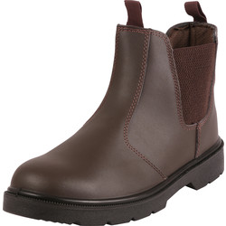 Blackrock Dealer Safety Boots Brown Size 8 - 41531 - from Toolstation