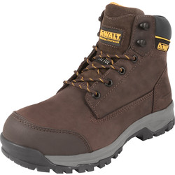 DeWalt DeWalt Davis Safety Boots Brown Size 9 - 41532 - from Toolstation