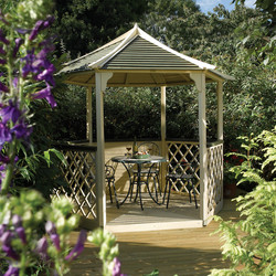 Rowlinson Rowlinson Gainsborough Gazebo 270cm (h) x 300cm (w) x 260cm (d) - 41559 - from Toolstation