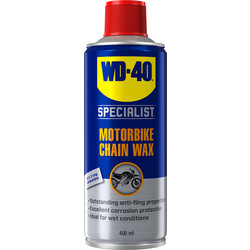 WD-40 WD-40 Specialist Motorbike Chain Wax 400ml - 41640 - from Toolstation