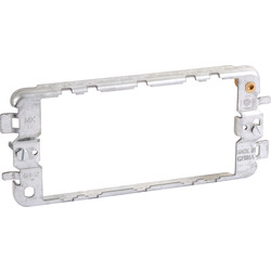 MK MK Grid Plus Fixing Plate (Yoke) 3 Gang - 41667 - from Toolstation