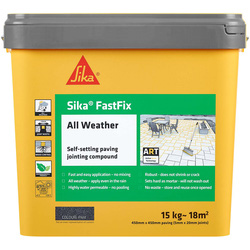 Sika Sika FastFix All Weather Jointing Compound Flint 15kg - 41721 - from Toolstation