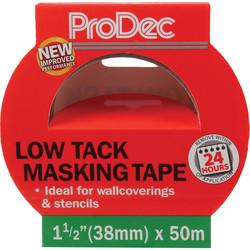 Prodec Low Tack Masking Tape