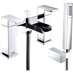 Deva Waterfall Deck Mounted Bath Shower Mixer Tap  - 41808 - from Toolstation