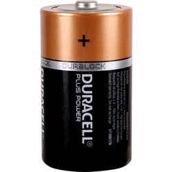 Duracell Duracell Plus Power Battery D - 41812 - from Toolstation