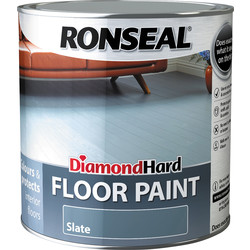 Ronseal Ronseal Diamond Hard Floor Paint Slate 2.5L - 41849 - from Toolstation