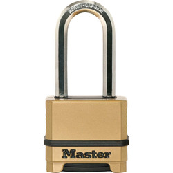 Master Lock Master Lock Excell Combination Padlock 56 x 9 x 51mm Extra LS - 41867 - from Toolstation