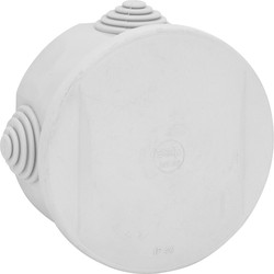 Axiom Enclosure Round IP44 80 x 40mm - 41917 - from Toolstation