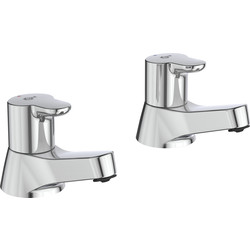 Ideal Standard Ideal Standard Desna Pillar Taps Bath - 42024 - from Toolstation