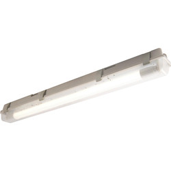 Luceco Luceco Eco Climate LED T8 Batten IP65 1 x 18W 1200mm 1500lm - 42047 - from Toolstation