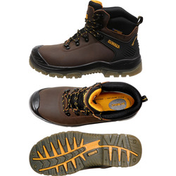 DeWalt DeWalt Newark Safety Boots Size 8 - 42082 - from Toolstation