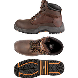 V12 Footwear VR601 Bison Safety Boots Size 8 - 42092 - from Toolstation