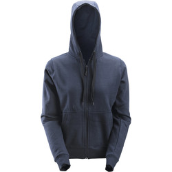 Snickers Workwear Snickers Women's Zip Hoodie Small Navy - 42116 - from Toolstation