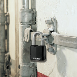 Master Lock Excell Weather Tough Laminated Steel Padlock