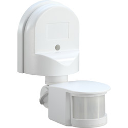Zinc 180° PIR Sensor White - 42203 - from Toolstation