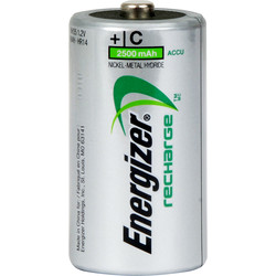Energizer Power Plus Pre Charged Rechargeable Battery C 2500mAh