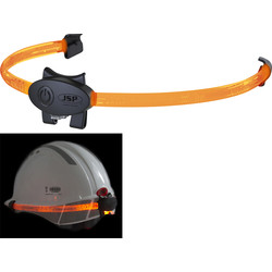 JSP JSP VisiLite Safety Helmet Light Orange - 42432 - from Toolstation