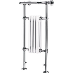 Made4Trade Made4Trade Traditional Towel Radiator 952 x 479mm 907 Btu - 42469 - from Toolstation