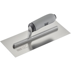"Ragni Ragni Soft Grip Skimming Trowel 11"" Stainless Steel - 42494 - from Toolstation"