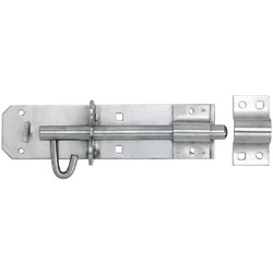 Stainless Steeel Heavy Brenton Padbolt 200mm - 42587 - from Toolstation