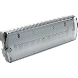 LED IP65 Emergency Bulkhead Maintained 2W 78lm
