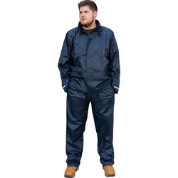Portwest Navy Waterproof Trousers Medium - 42671 - from Toolstation