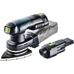 Festool Festool DTSC 400 Li 18V Li-Ion Cordless Delta Sander 2 x 3.1Ah - 42707 - from Toolstation