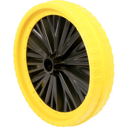 Walsall Wheelbarrow Company Universal Puncture Proof Wheelbarrow Wheel 350mm - 42822 - from Toolstation