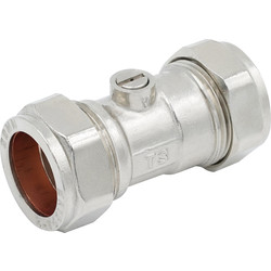 Made4Trade Made4Trade Isolating Valve CP 22mm - 42958 - from Toolstation