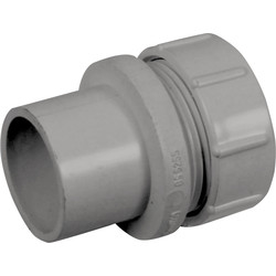 Aquaflow Solvent Weld Access Plug 40mm Grey - 43006 - from Toolstation