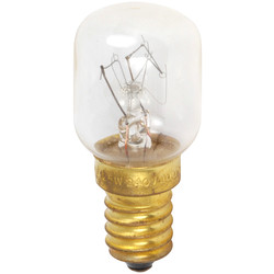 CED Oven Bulb Lamp 25W SES (E14) 125lm - 43141 - from Toolstation