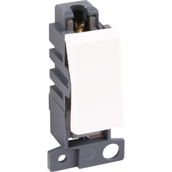 Scolmore Click Click Mode Grid Module 10A 2 Way Retractive - 43236 - from Toolstation