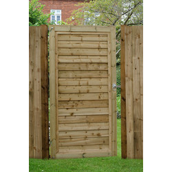 Forest Forest Garden Pressure Treated Lap Gate 180cm (h) x 91cm (w) x 4.4cm (d) - 43247 - from Toolstation