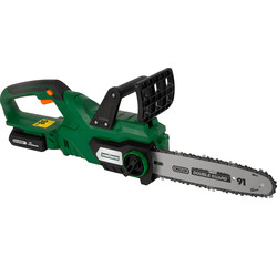 Hawksmoor Hawksmoor 18V 25cm Cordless Chainsaw 1 x 4.0Ah - 43261 - from Toolstation