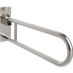 Croydex Croydex Drop Down Grab Bar Chrome - 43273 - from Toolstation