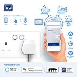 BG 13A Low Profile Smart Control Switched Socket