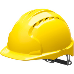 JSP EVO2 Adjustable Safety Helmet Yellow