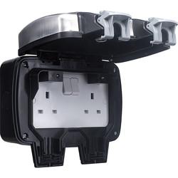 BG Decorative IP66 13A DP Switched Socket