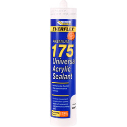 Everbuild Premium Universal Acrylic Sealant 300ml - 43528 - from Toolstation