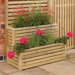 Rowlinson Rowlinson Garden Creations Tier Planter 60cm (h) x 90cm (w) x 45cm (d) - 43577 - from Toolstation