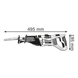 Bosch GSA 1100W E Professional Sabre Saw