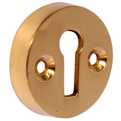 Victorian Open Escutcheon Brass