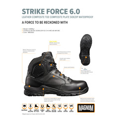 Magnum Strike Force Waterproof Safety Boots